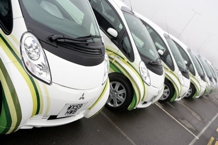 iMiEV handover