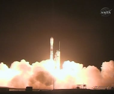 The launch of WISE. Pic: NASA