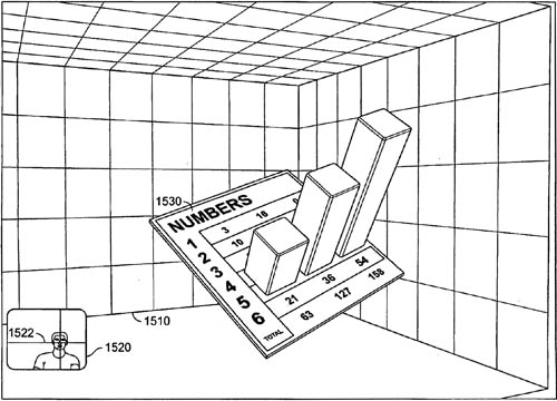 Apple 3D variable-display patent illustration
