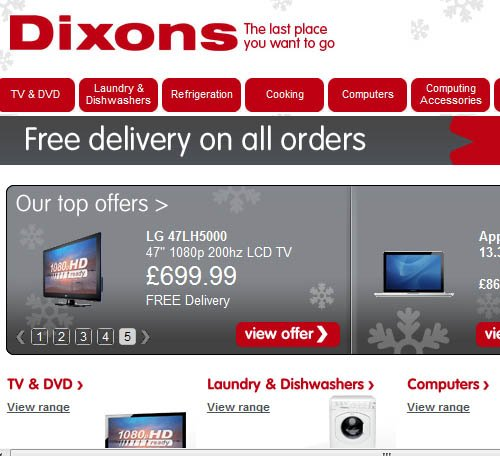 Dixons - the last place you want to go to