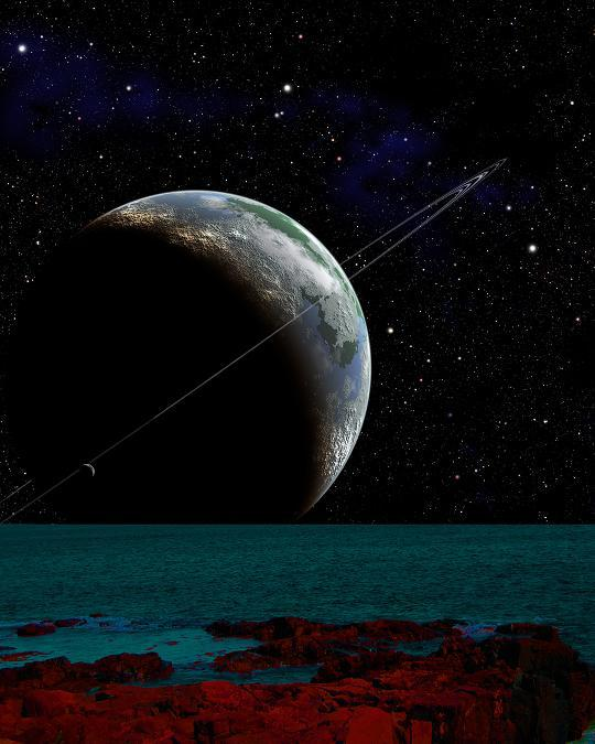 Aliens more likely to live on moons than planets, say ...