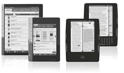Copia eReaders