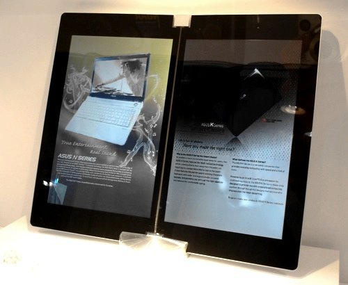 Asus dual-screen tablet