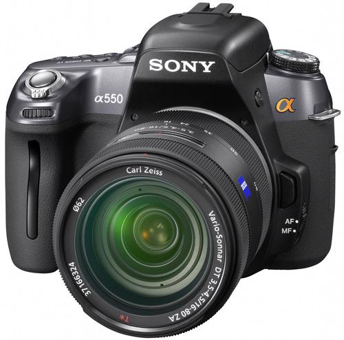 Sony Alpha A550