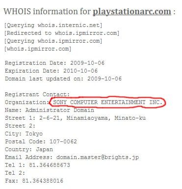 domain_name_sony_Arc