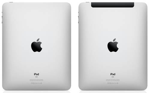 Apple iPad and iPad 3g
