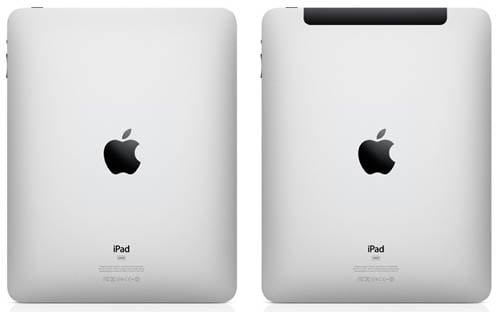 Apple iPad and iPad 3g