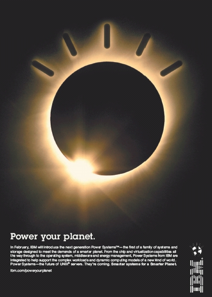 IBM Power7 WSJ Advertisement