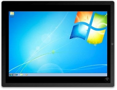 iPad running Windows Desktop