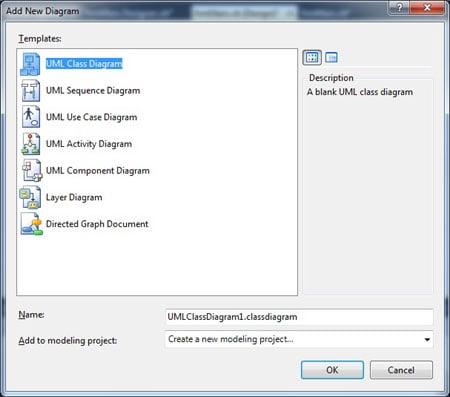 UML in Visual Studio 2010