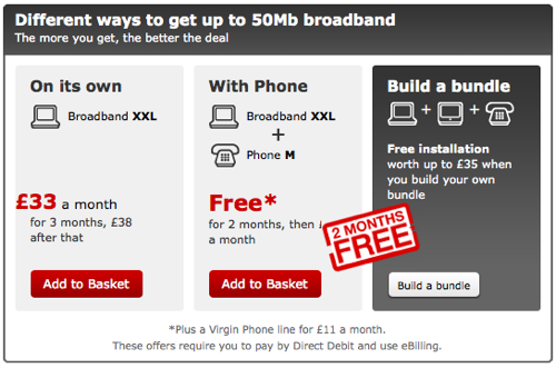Virgin Media XXL