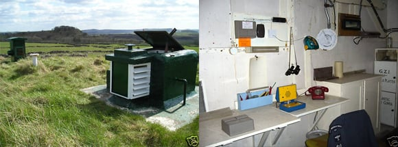Views of the ROC nuclear bunker