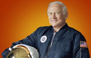 Buzz Aldrin. Pic: ABC