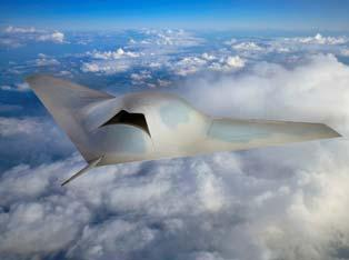 The 'Phantom Ray' testbed concept. Credit: Boeing