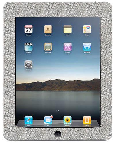Mervis Diamond Importers' diamond-encrusted iPad