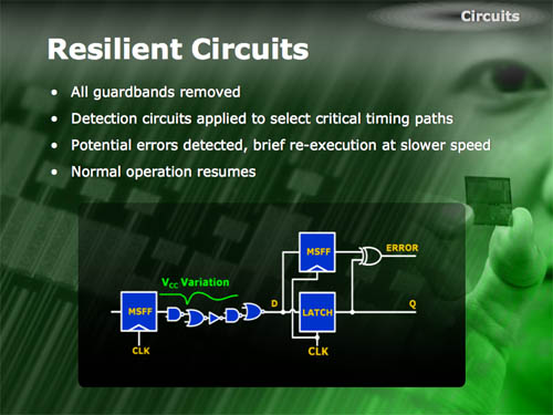 Intel resilient circuits