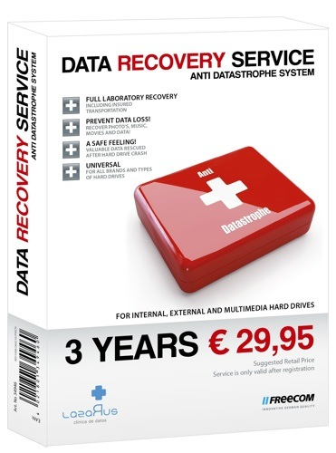 Freecom Data Recover Service