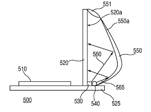 Apple 'External Light' patent illustration