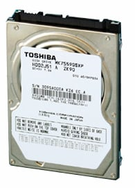 Toshiba's 750GB 2-platter notebook drive