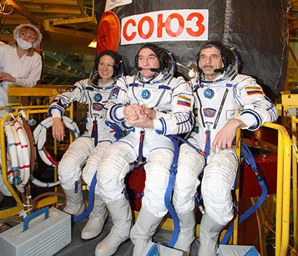 The Expedition 23 crew. Pic: NASA