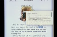 iPad iBooks app