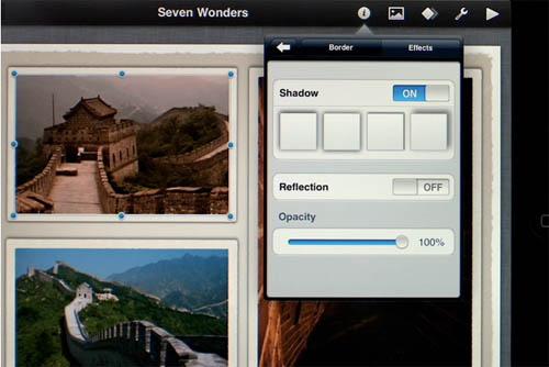 iPad Keynote app