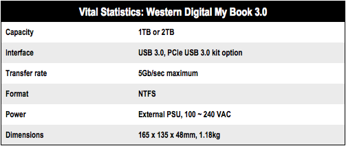 Western Digital My Book 3.0