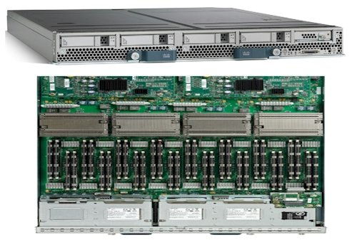 Cisco Systems B440 Nehalem-EX Blade
