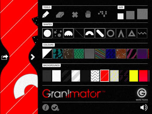 Graminator iPad app