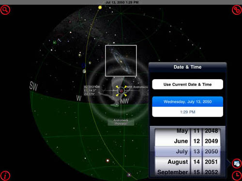 GoSkyWatch Planetarium iPad app