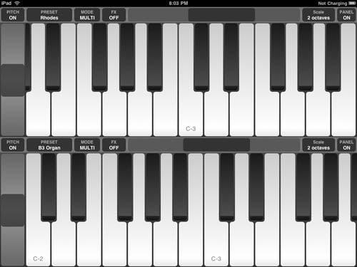 Pro Keys iPad app