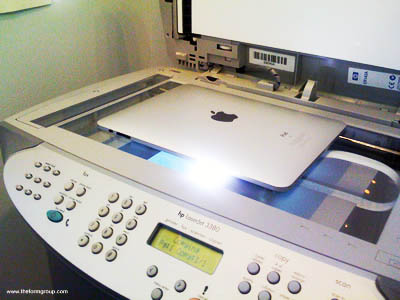 How to get a hard-copy print from an iPad