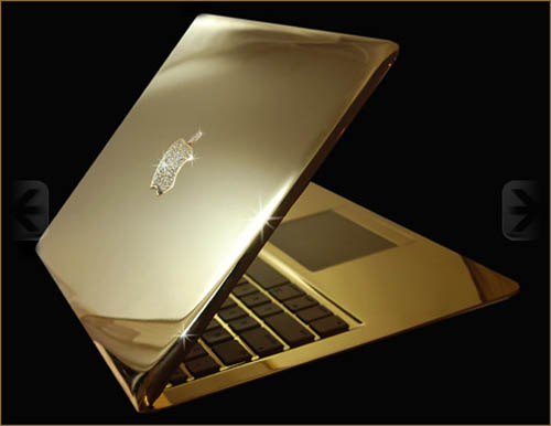 Stuart Hughes Macbook [sic] Air Supreme Fire Edition