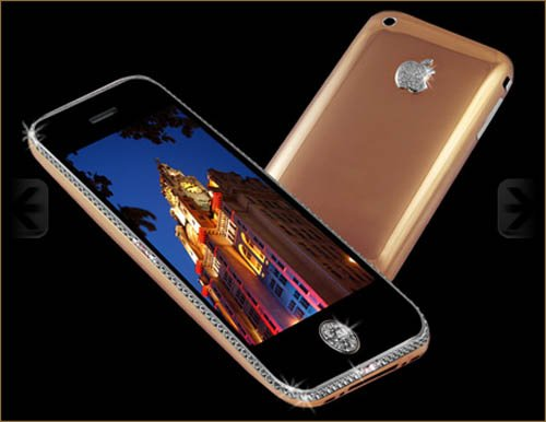 Stuart Hughes Iphone [sic] 3GS Supreme Rose