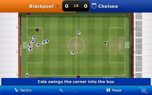 Football Manager Handheld Screenshot