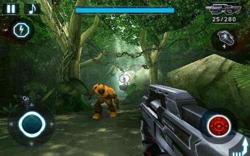 N.O.V.A. iphone and ipad gaming screenshot