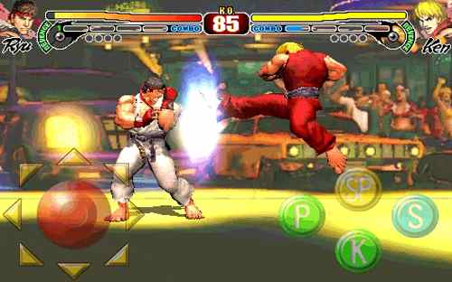 Streetfighter IV iphone screenshot