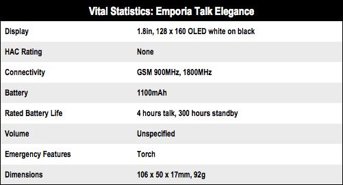 Emporia Talk Elegance