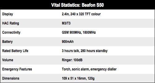 Beafon S50