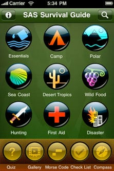 SAS Survival Guide for the iphone