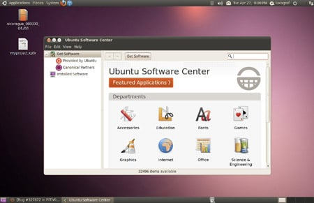 The Ubuntu Software Center