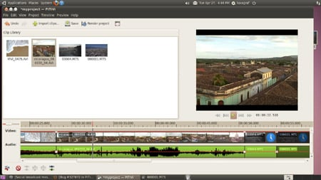 Ubuntu video editor