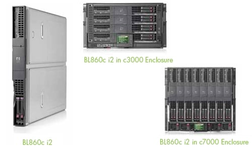 HP Tukwila Itanium Blade Servers