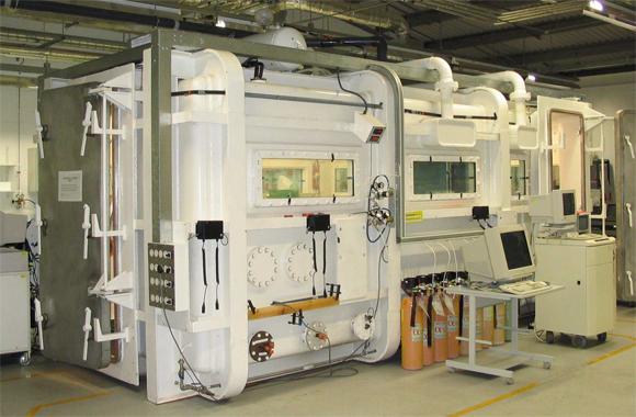 QinetiQ's hypobaric chamber
