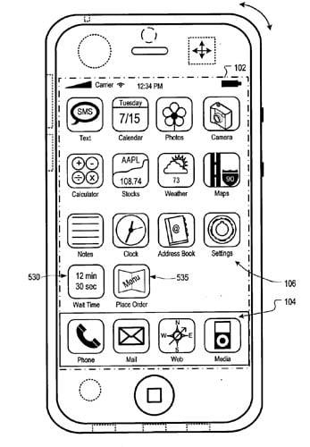 Apple 'Location Specific Content' patent illustration