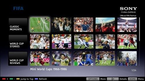Sony Fifa Bravia