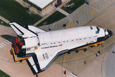Space shuttle Atlantis. Pic NASA