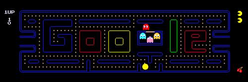 Pac-Man Google