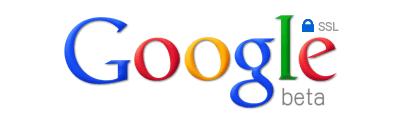 Google SSL search logo