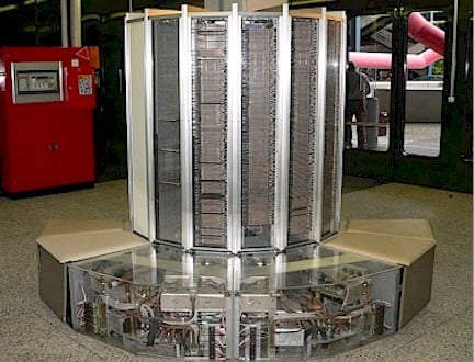 Cray 1 Supercomputer